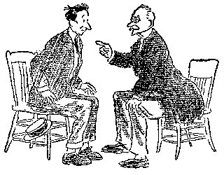 the project gutenberg ebook of in africa by john t mccutcheon Handicap Cart Clip Art drawing advice from a cheerful stranger