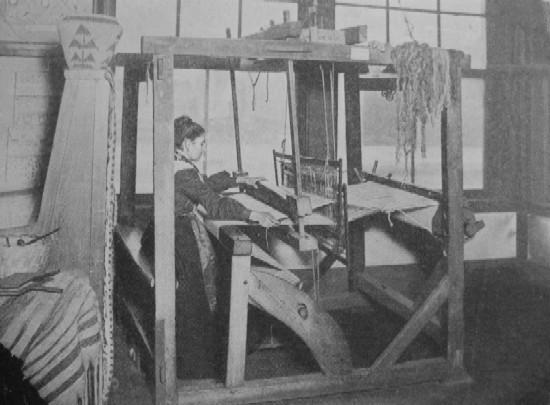 TYPICAL COLONIAL HAND LOOM