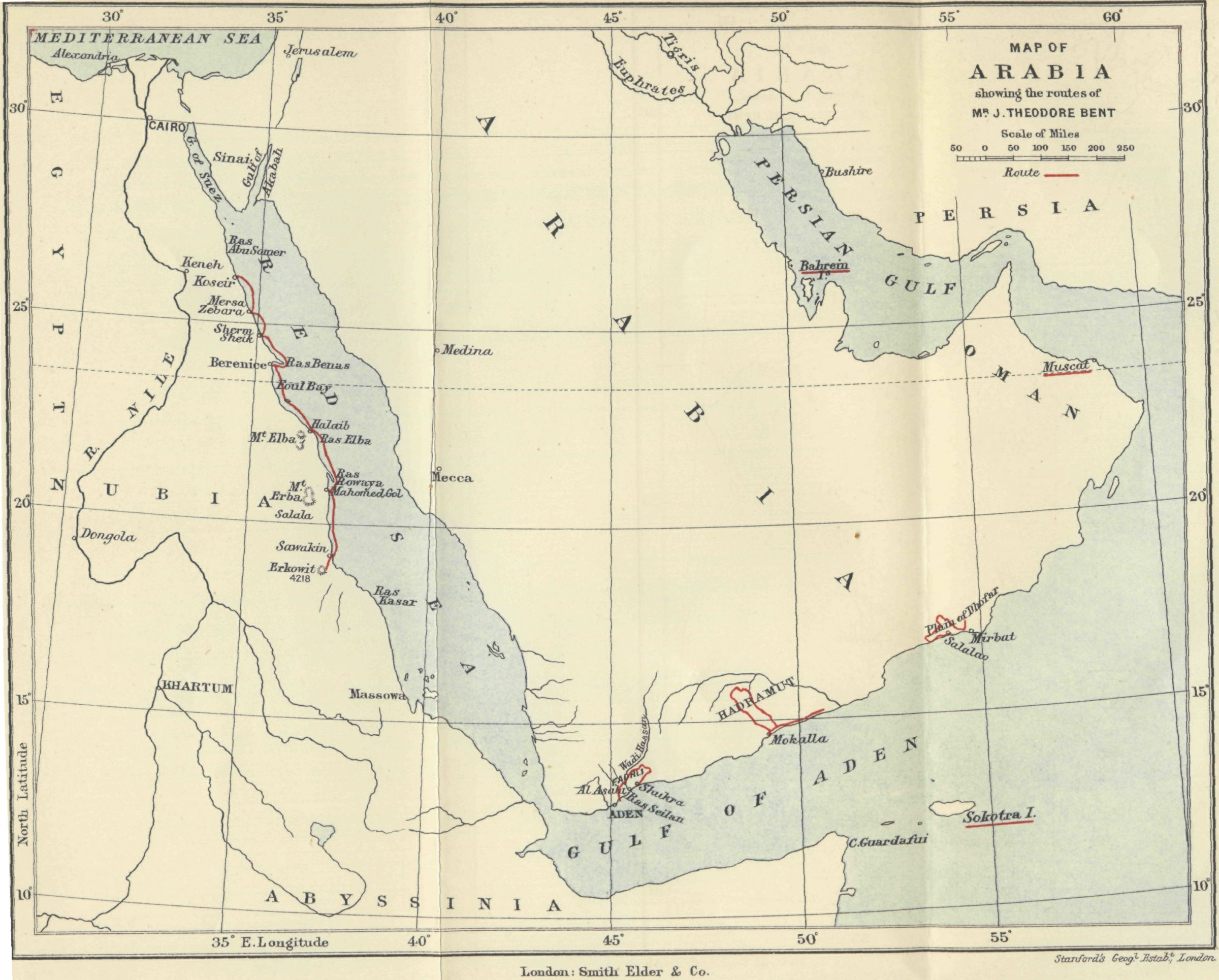 The Project Gutenberg eBook of Southern Arabia, by Theodore ... on