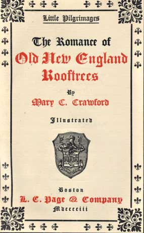 The project gutenberg ebook of the romance of old new england character set encoding iso 8859 1 start of this project gutenberg ebook old new england rooftrees produced by barbara tozier bill tozier fandeluxe Choice Image