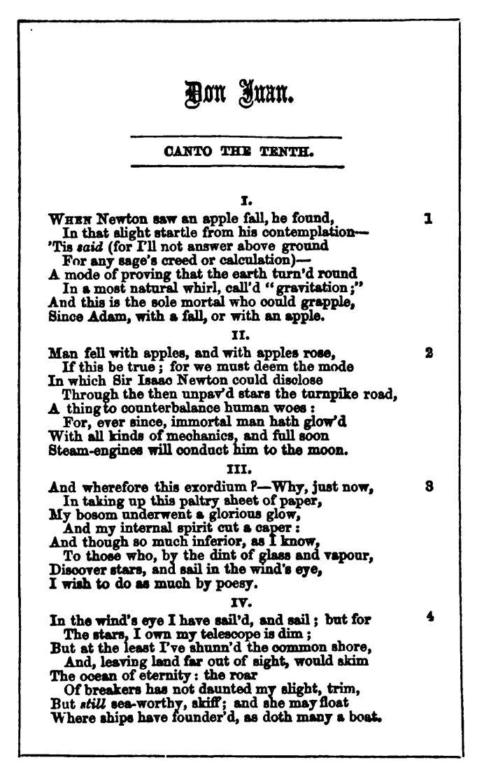 Don Juan By Lord Byron