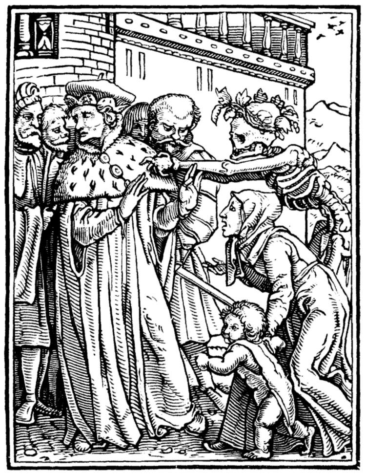 The project gutenberg ebook of the dance of death by hans holbein the duke fandeluxe Images