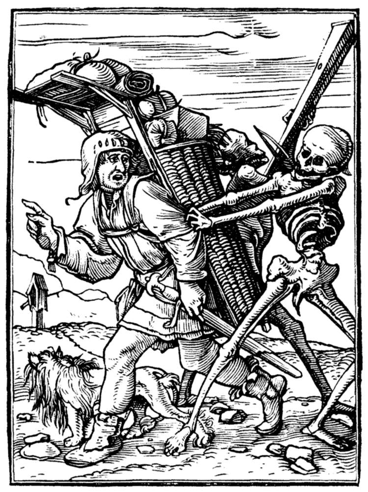 The project gutenberg ebook of the dance of death by hans holbein the pedlar fandeluxe Images