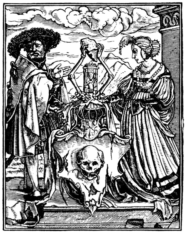 The project gutenberg ebook of the dance of death by hans holbein the escutcheon of death fandeluxe Images