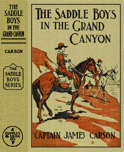 images of the project gutenberg ebook of saddle boys in grand canyon