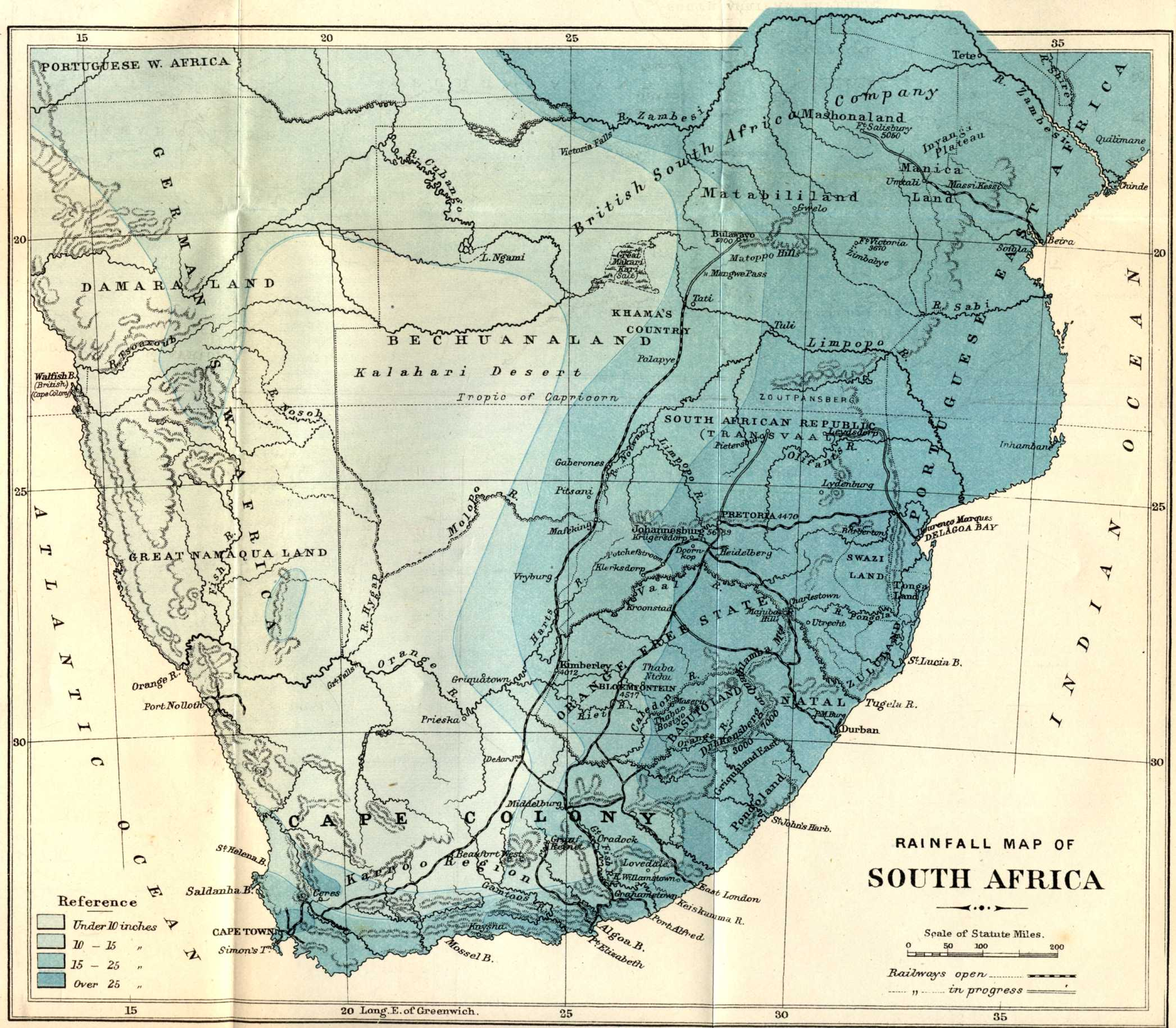 The Project Gutenberg eBook of Impressions of South Africa by James