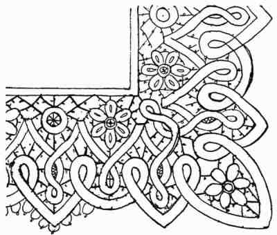 Honiton Lace Patterns Point or Honiton Lace