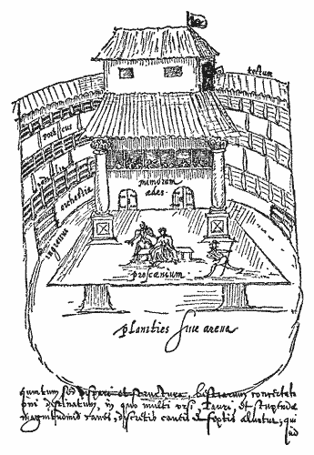 254 We May Reasonably Suppose That Not Only In 1596 But Also 1595 The Building Was Used By Players