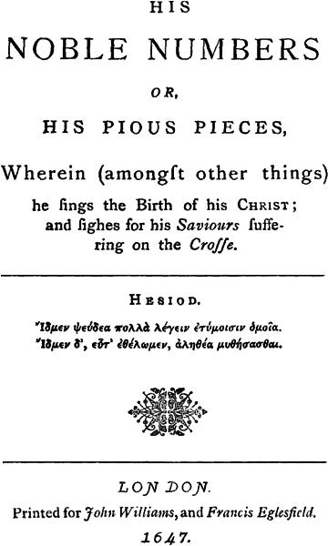 The Project Gutenberg eBook of Robert Herrick, The