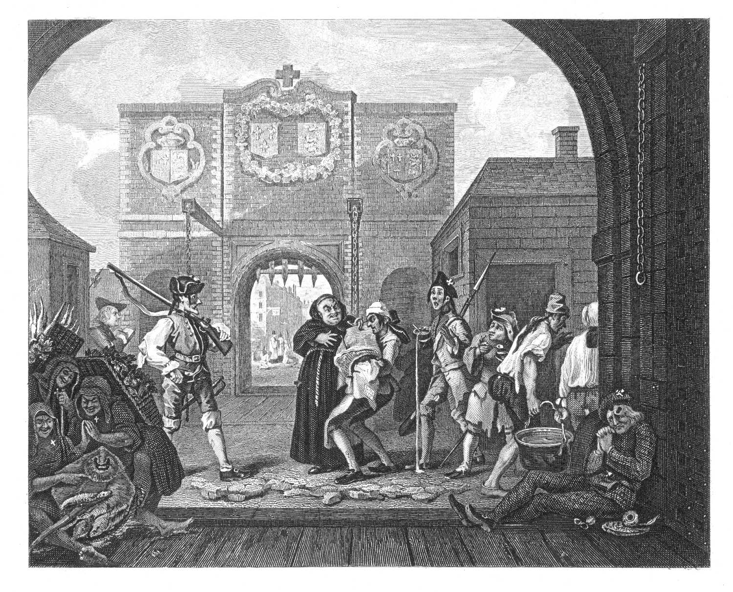 The Project Gutenberg eBook of The Works of William Hogarth, by The Rev.  John Trusler.
