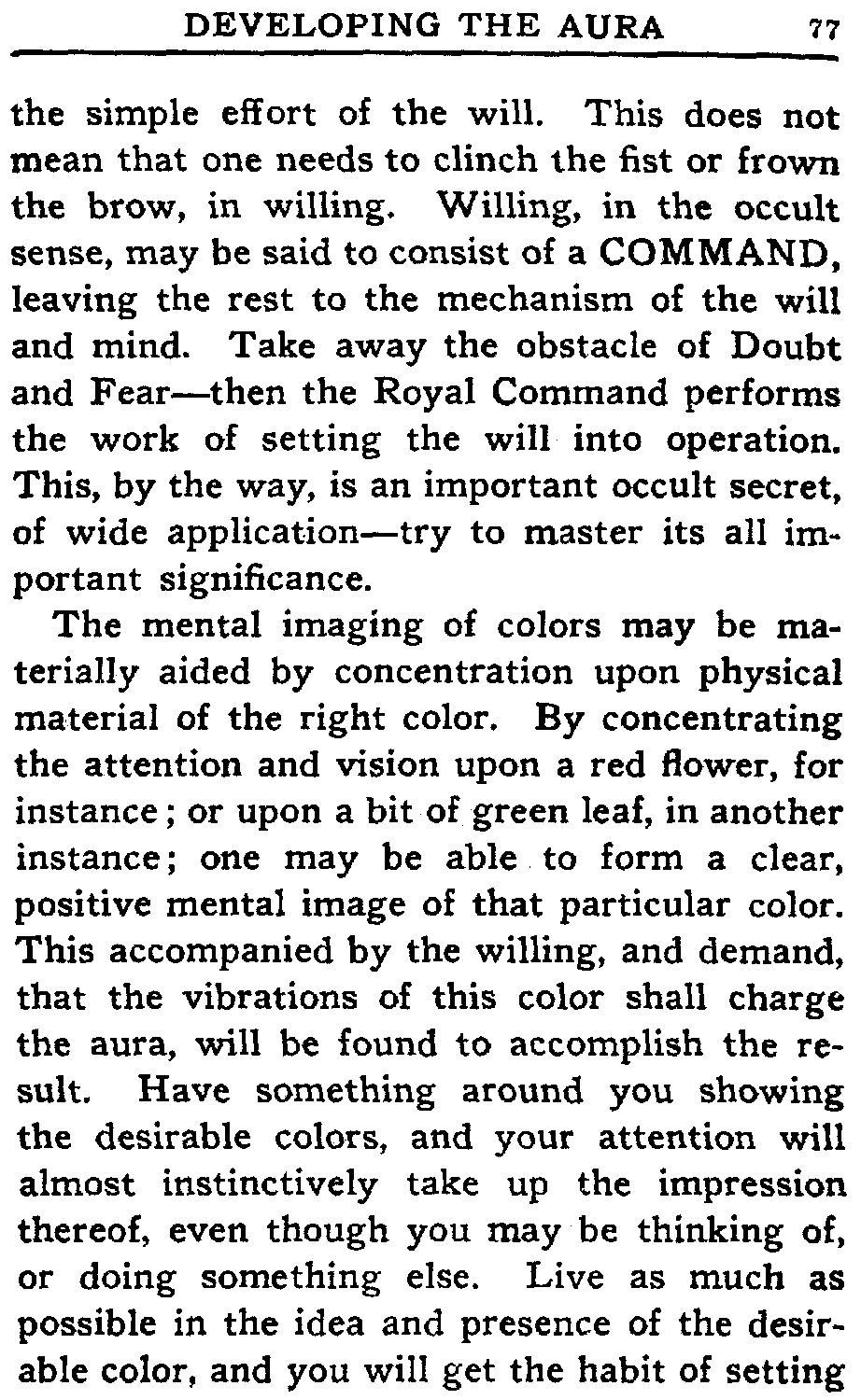 The project gutenberg ebook of the human aura by swami panchadasi this does not mean that one needs to clinch the fist or frown the brow in willing willing in the occult sense may be said to nvjuhfo Image collections