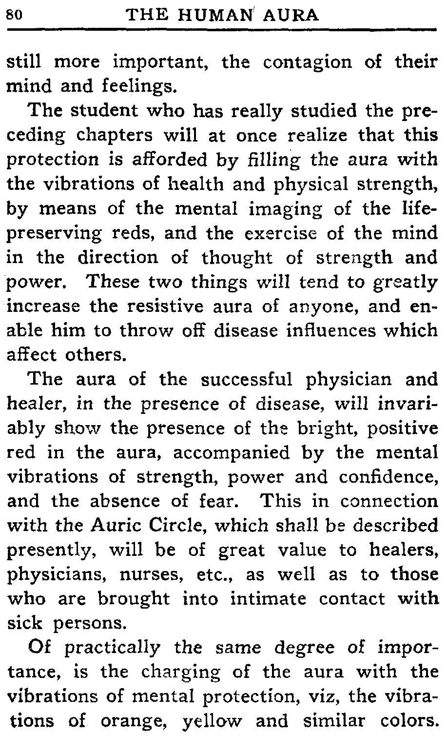 The project gutenberg ebook of the human aura by swami panchadasi fandeluxe Images