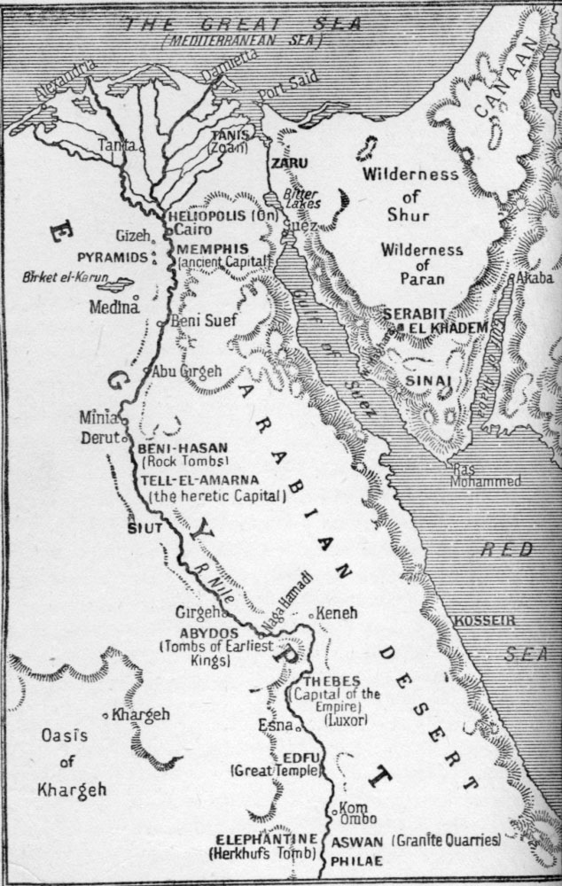 The Project Gutenberg EBook Of Peeps At Many Lands Ancient Egypt - Map of egypt with capital