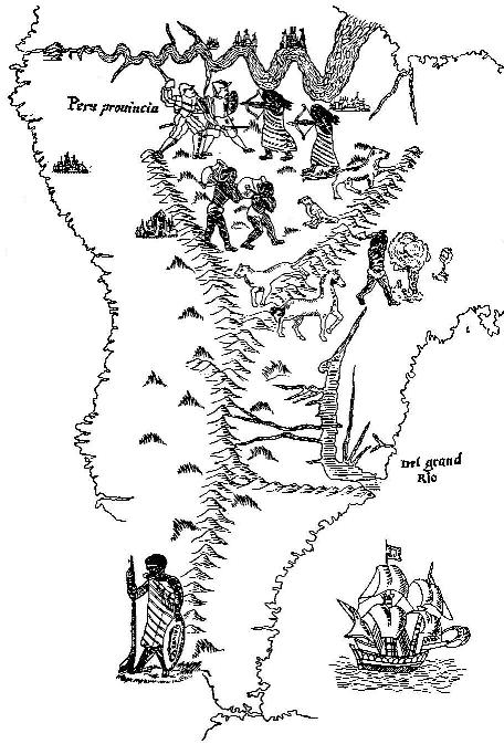 The Project Gutenberg EBook Of A Book Of Discovery By M B Synge - Colourless world map