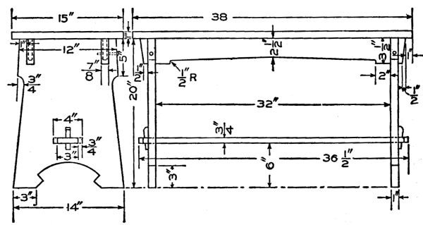 Piano Bench Plans Build