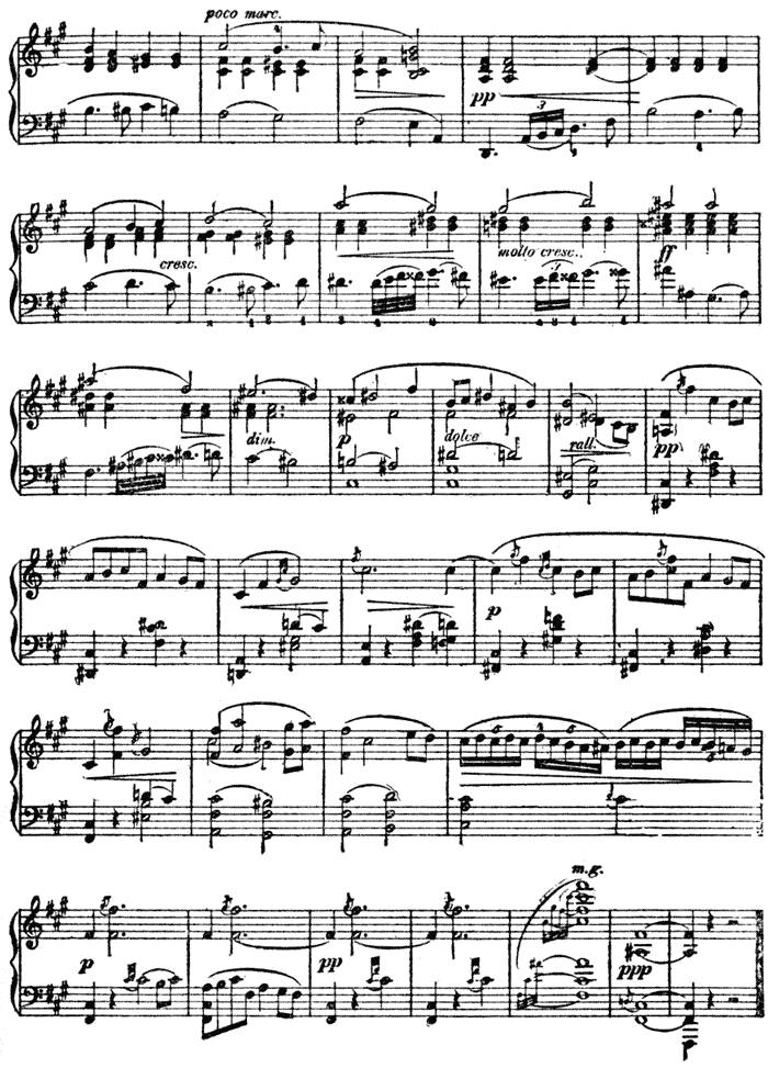 Piano free piano sheet music clair de lune : The Project Gutenberg eBook of Contemporary American Composers, by ...