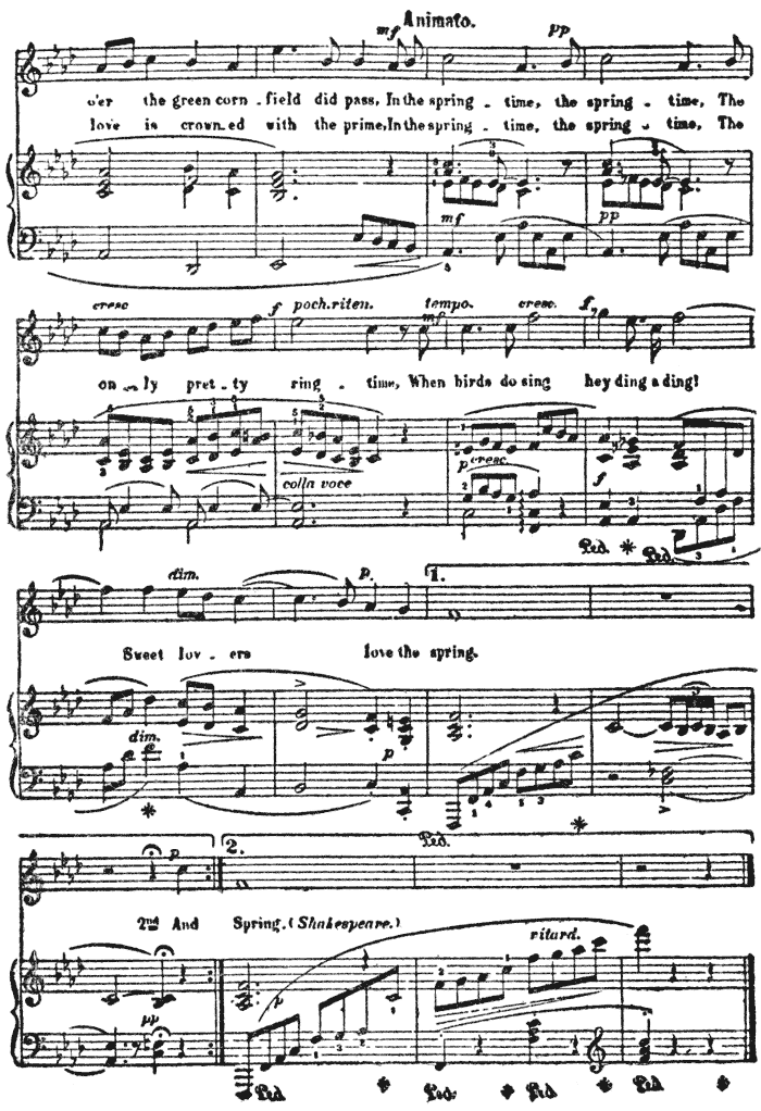 All Music Chords one sweet day sheet music : The Project Gutenberg eBook of Contemporary American Composers, by ...