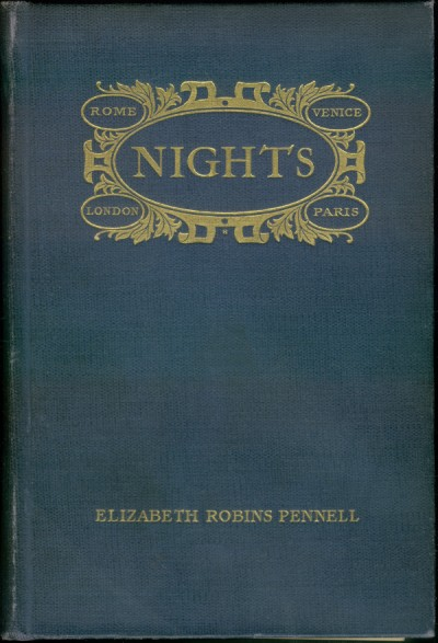 The project gutenberg ebook of nights by elizabeth robins pennell coverpage fandeluxe Images