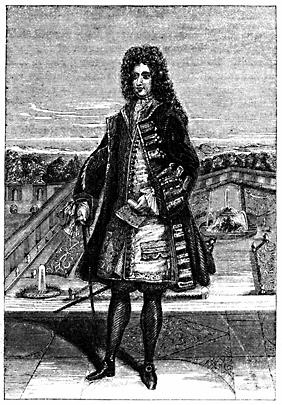 A full-figure portrait of a man.