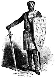 A knight.