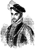 Half-portrait of a man.