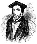 Half-length portrait of a man in ecclesiastical garb.