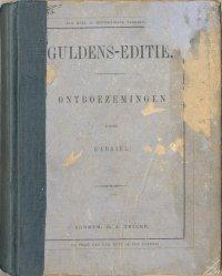 Ontboezemingen By Gabriël A Project Gutenberg Ebook