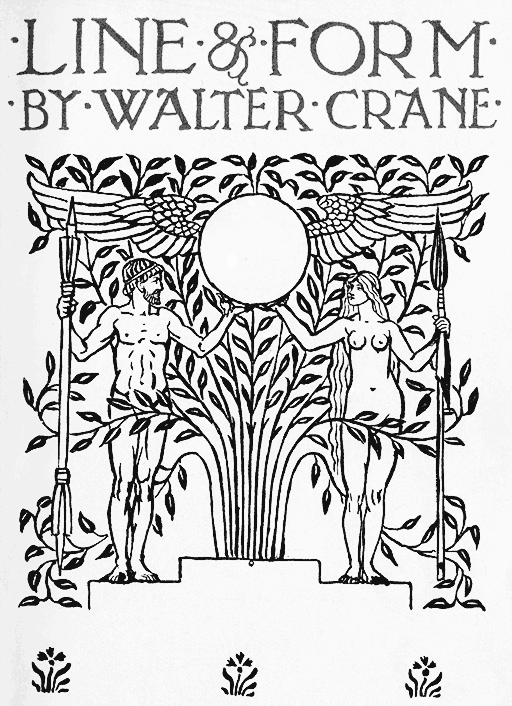 Line Form By Walter Crane
