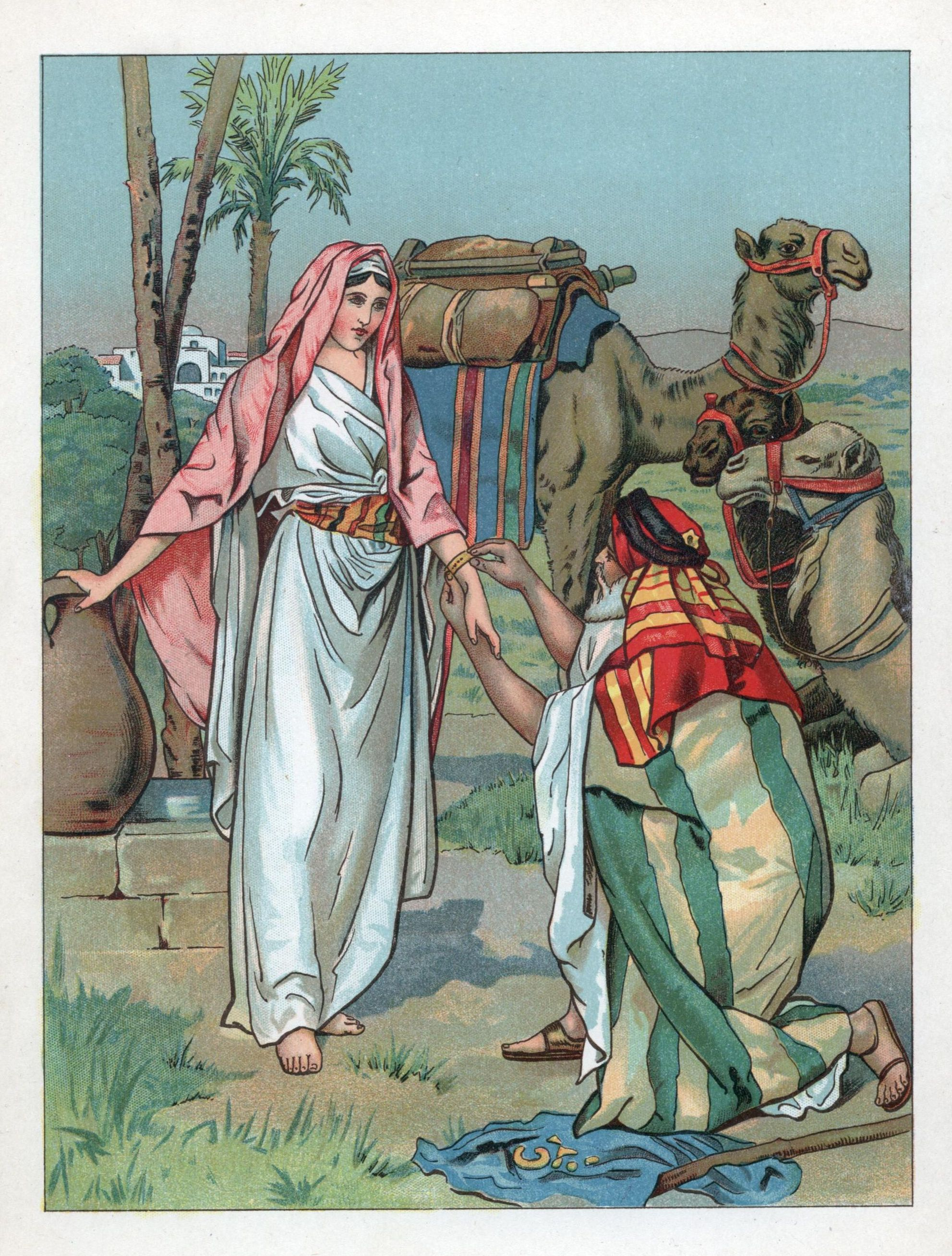 Moses and Zipporah at ...