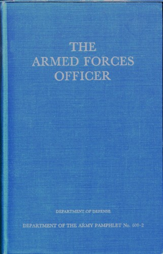 The project gutenberg ebook of the armed forces officer by u s cover fandeluxe Image collections