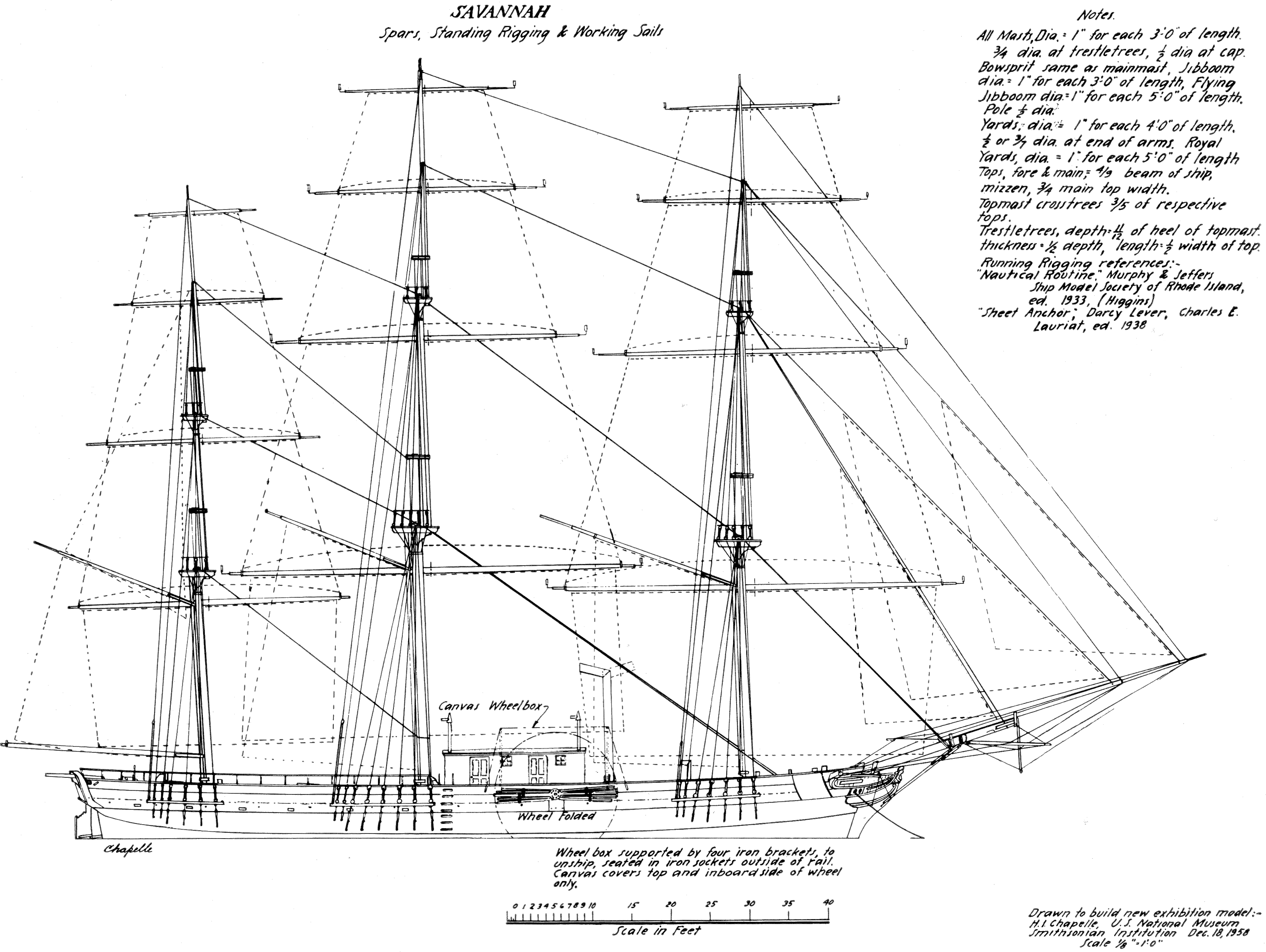 Sailing Ship Drawing