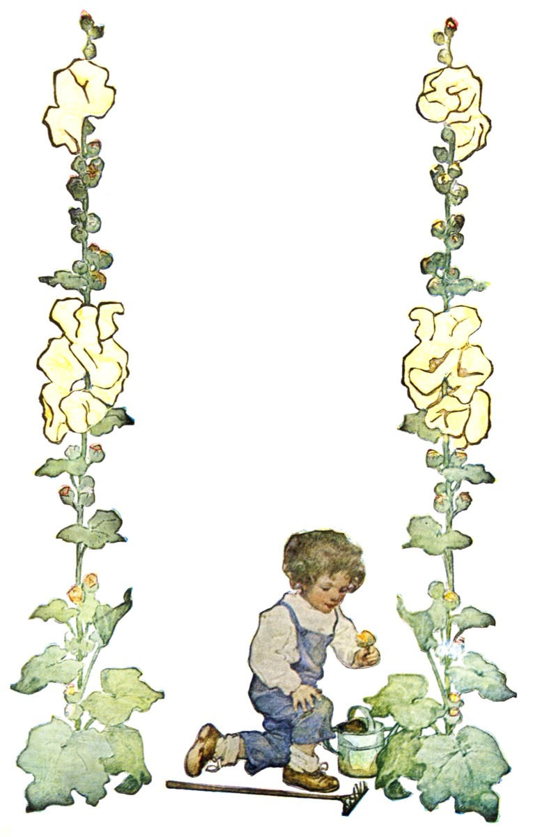 a childs garden of verses robert lovis stevenson with illvstrations by jessie willcox smith - A Childs Garden Of Verses