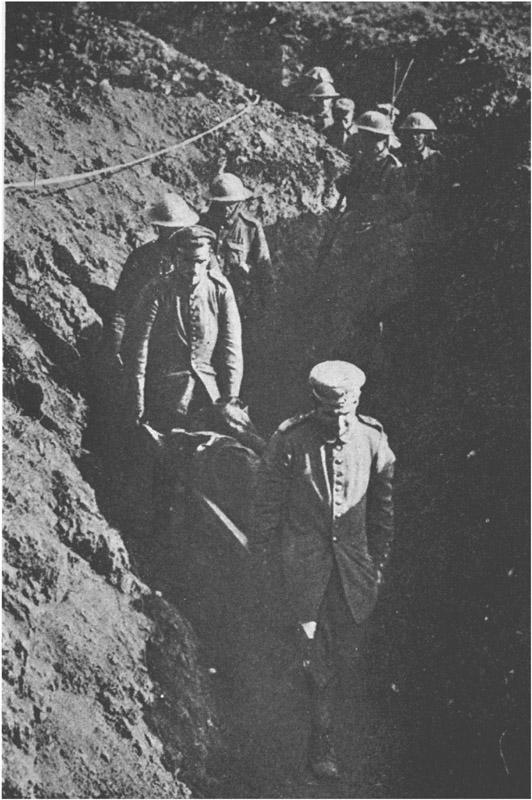 German latrine plowing