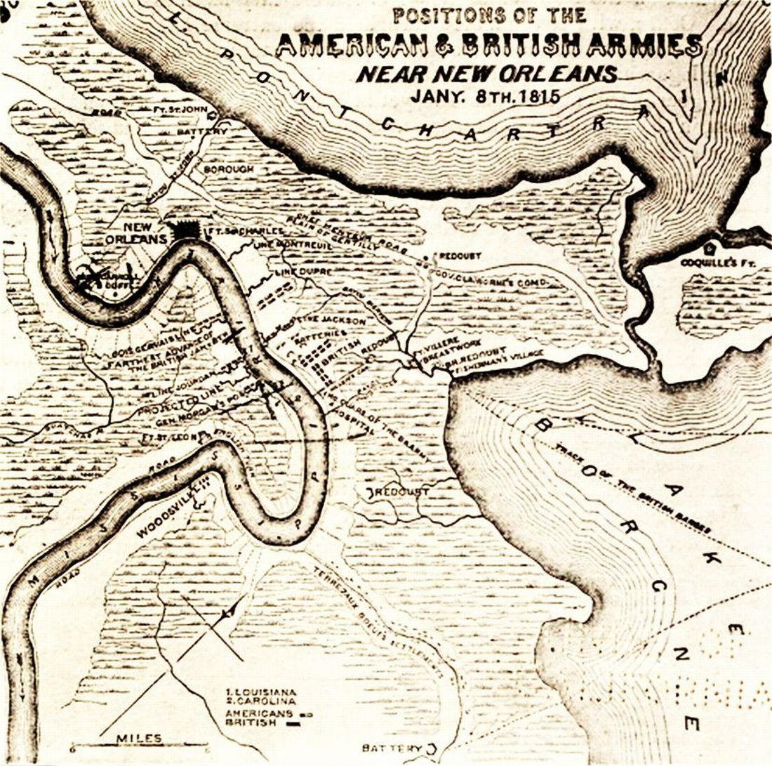 The Project Gutenberg eBook of The Battle of New Orleans, by ... on