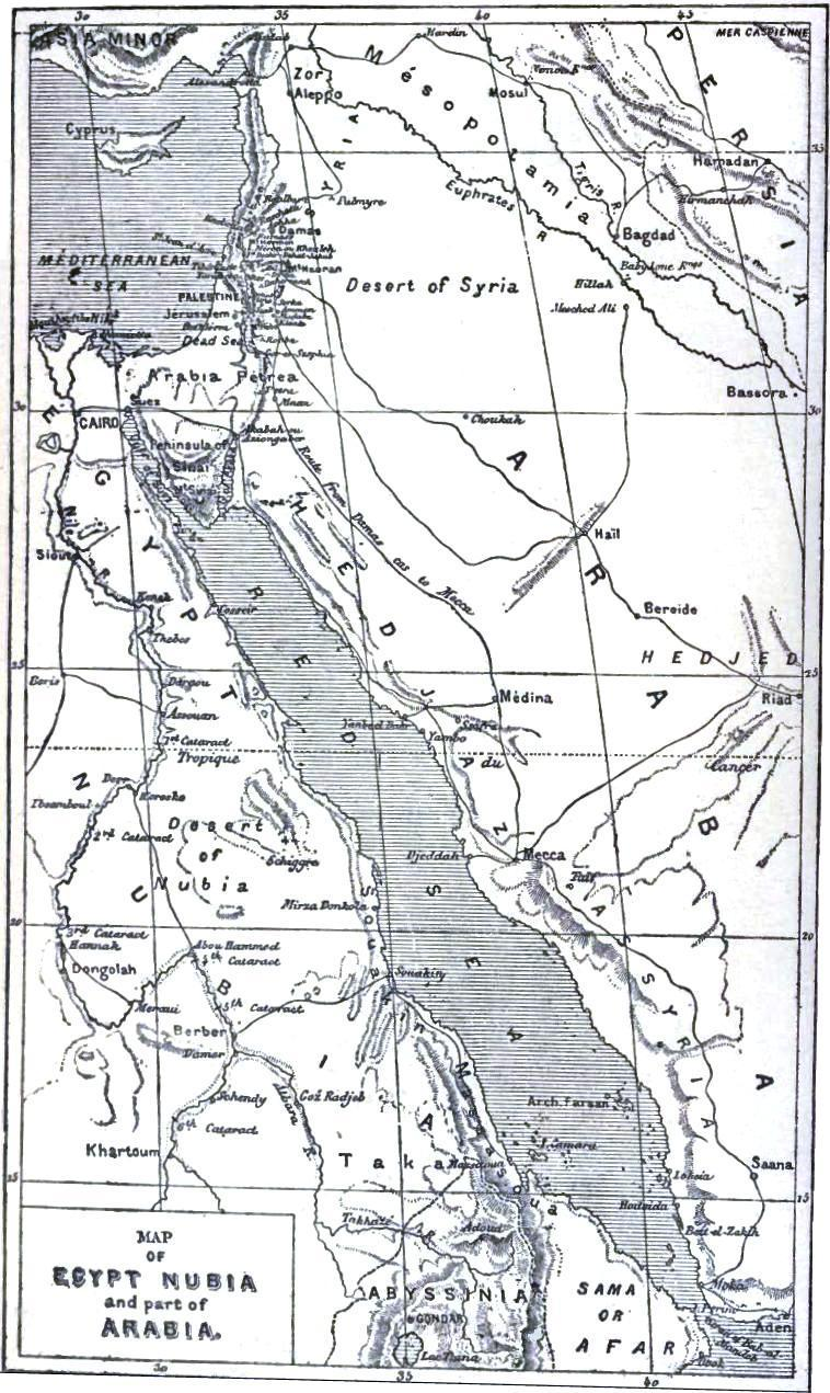 The Project Gutenberg EBook Of The Great Explorers Of The - Map of egypt nubian desert
