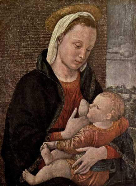 VINCENZIO DI ZOPPA (FOPPA): MADONNA AND CHILD