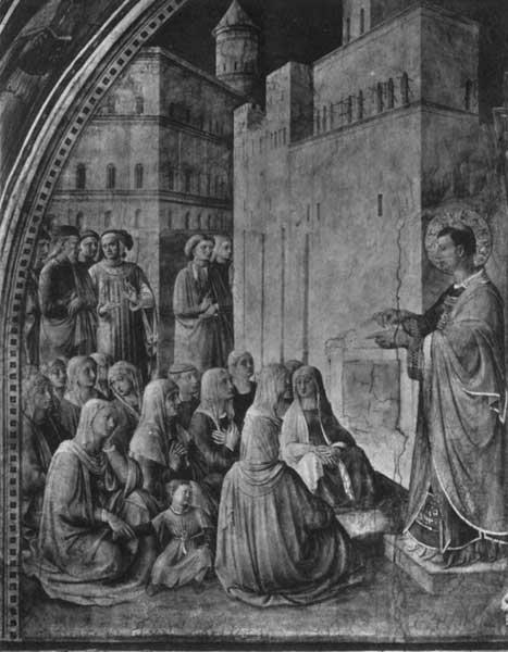 S. STEPHEN PREACHING