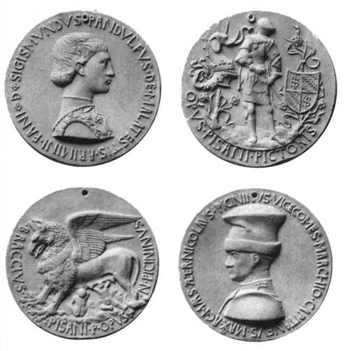 MEDALS OF SIGISMONDO PANDOLFO MALATESTA AND NICCOLÒ PICCININO