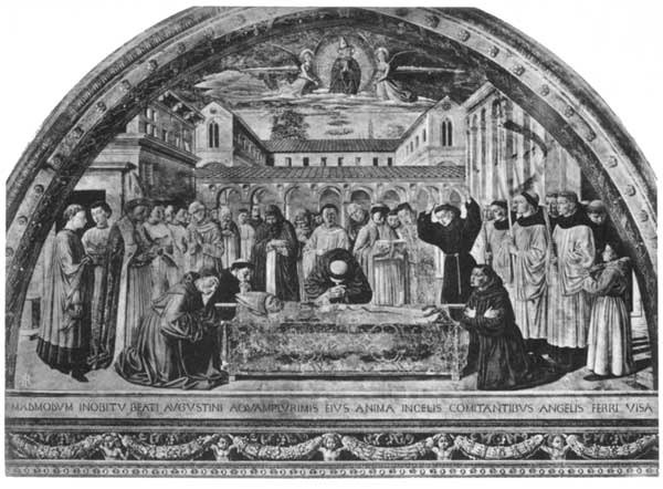 THE DEATH OF S. AUGUSTINE