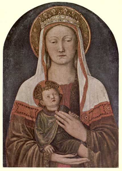 JACOPO BELLINI: THE MADONNA AND CHILD