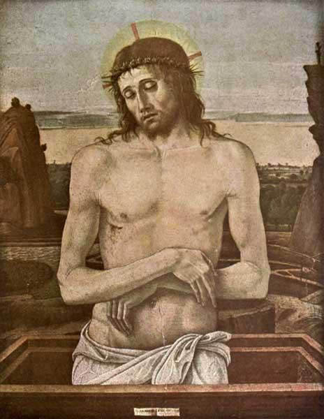 GIOVANNI BELLINI: THE DEAD CHRIST