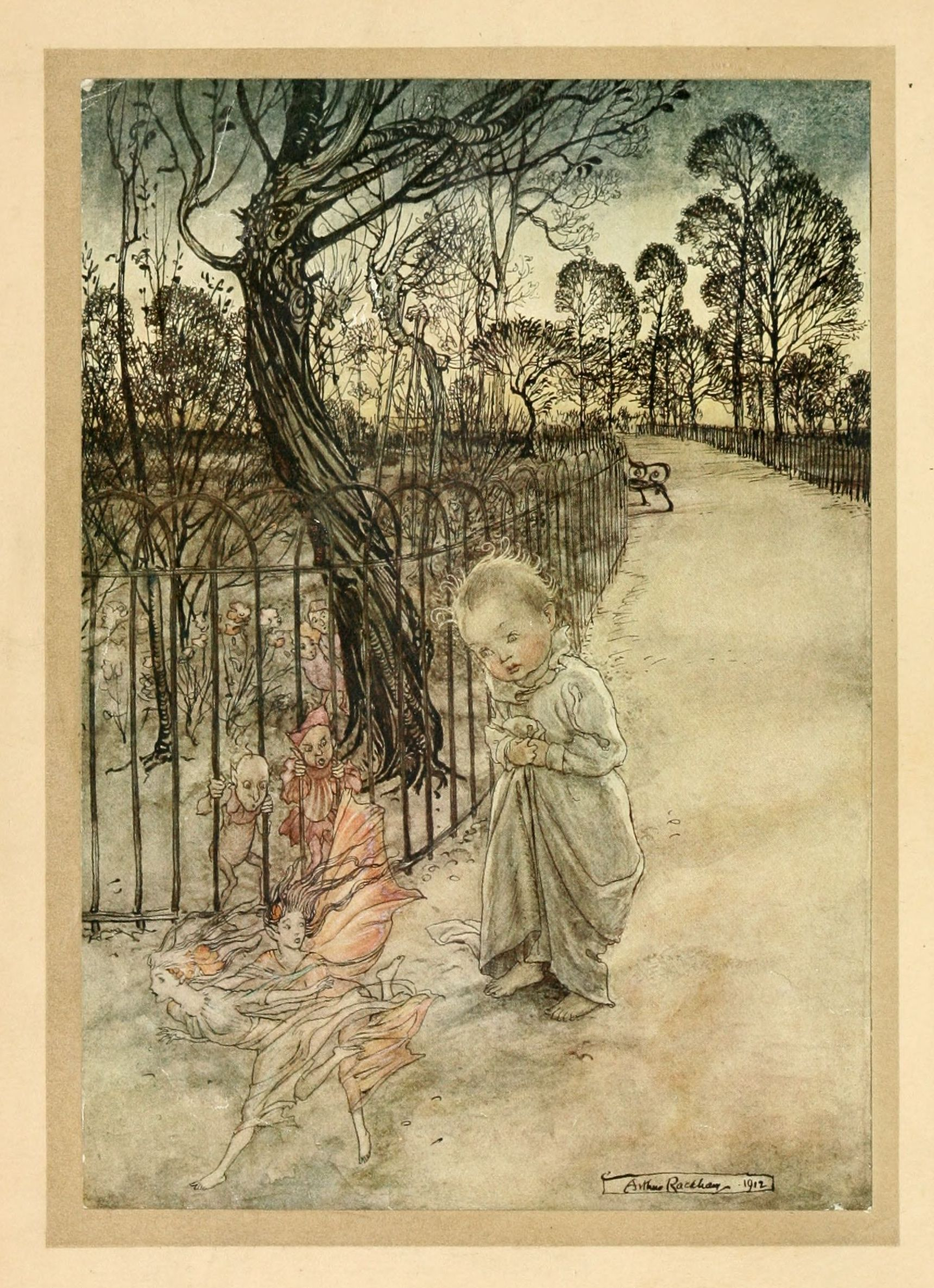 The Project Gutenberg E-text of Peter Pan in Kensington Gardens, by ...