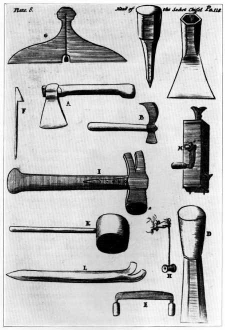 The Project Gutenberg eBook of Woodworking Tools, 1600–1900, by Peter C. Welsh.