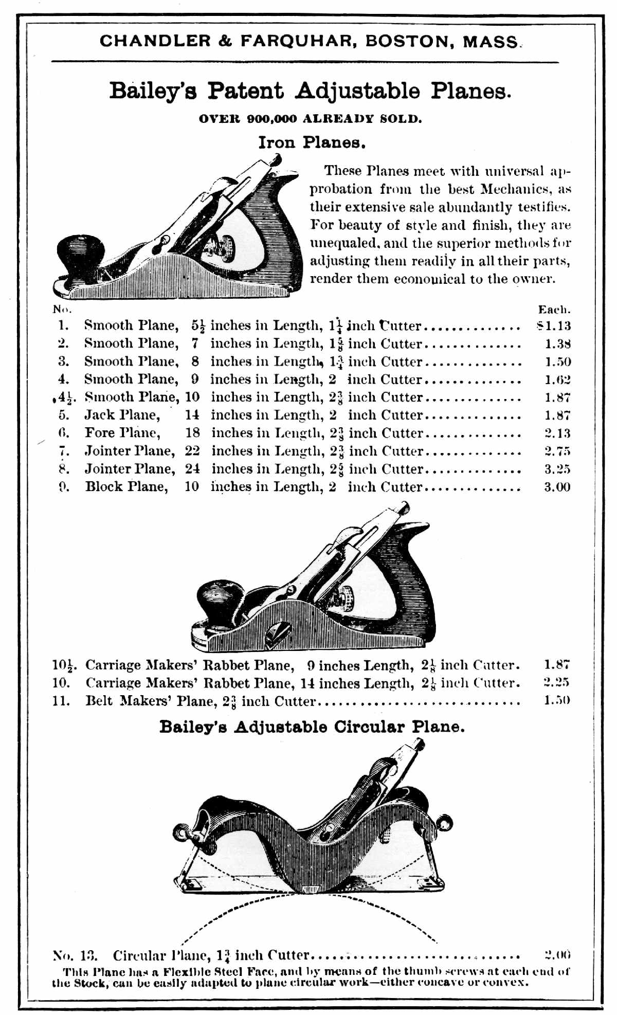 1600-1900 Woodworking Tools