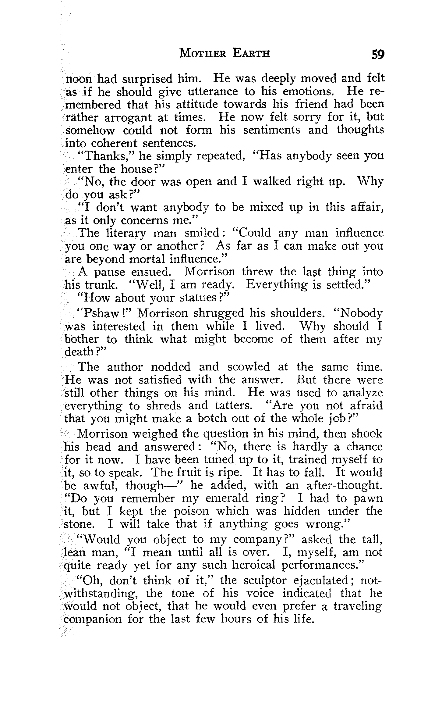 The Project Gutenberg Ebook Of Mother Earth, Vol 1 No 4, Edited By Emma  Goldman