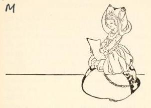 Illustration A Young Blonde Girl In Medieval Garb