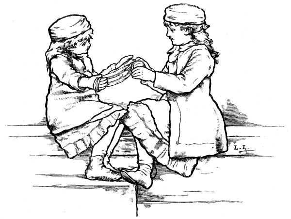 the project gutenberg ebook of little folks november 1884 issue by Charter School Holland MI cover