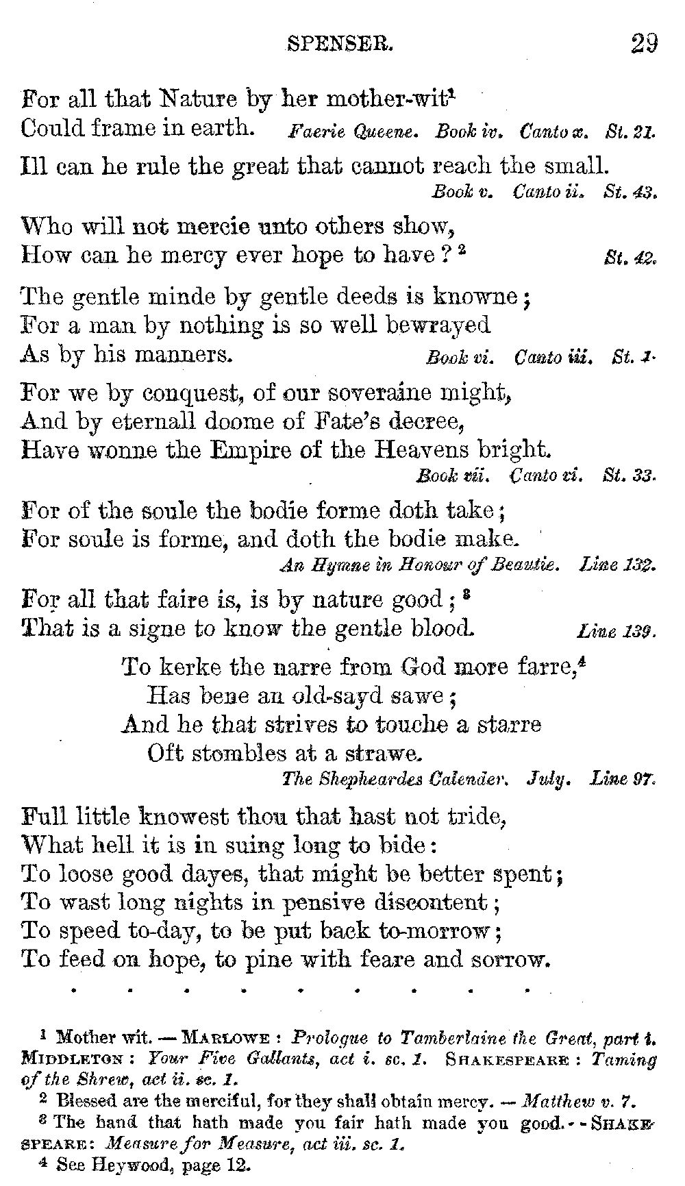 What is the meaning of the sonnet
