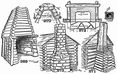 Detail for fireplaces and flues.