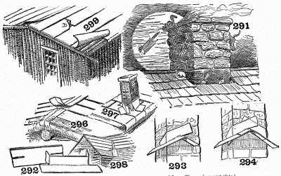 How to lay a composition roof and how to cover space around flue.